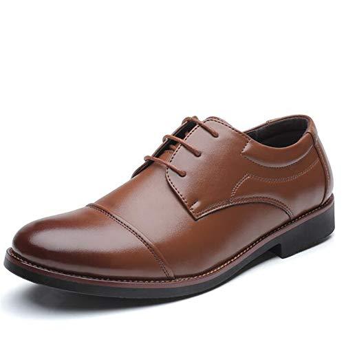 YiShengYuanKeJi Männer Büro Schuhe Oxford Schuhe Größe Männer Lederschuhe Business-Schuhe
