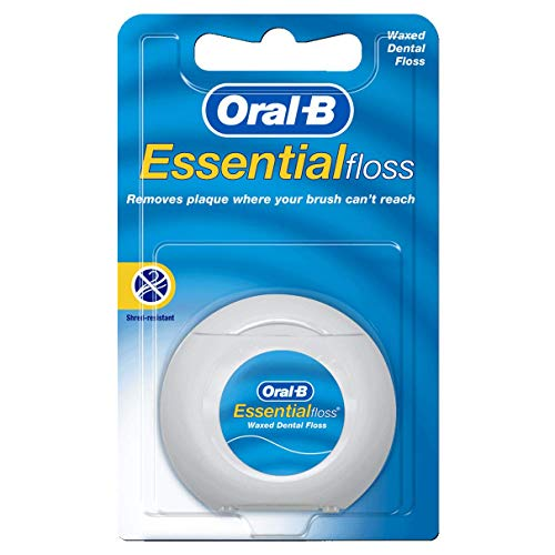 Oral-B Essential Floss 50 m Waxed (Pack of 6) (Zahnseide) -