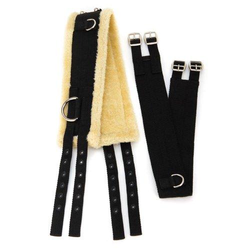 Shires Surfaix en nylon avec rembourrage en polaire Entier noir - Noir