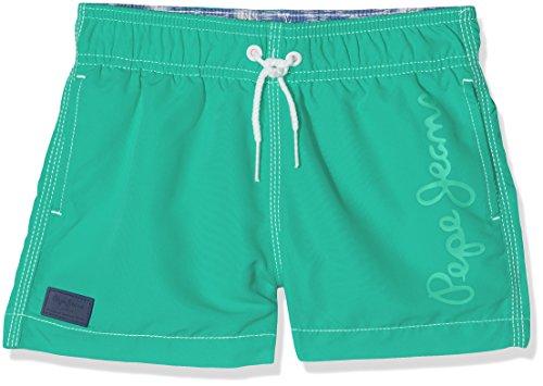 Pepe Jeans Guido, Baño para Niños, Verde (Segal Green), 4 Años (Talla del Fabricante: 4)