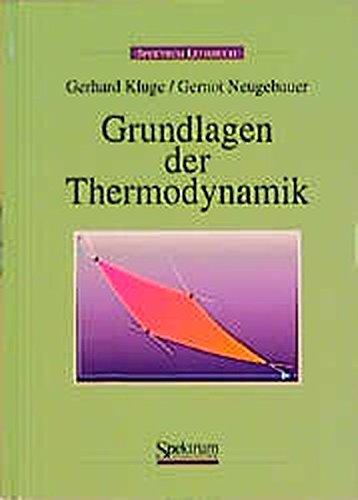 Grundlagen der Thermodynamik