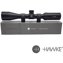 Hawke 'rapide Support' 3-9x40 : Mildot Lunette de visée avec montages 11321 - Nouveau 2018