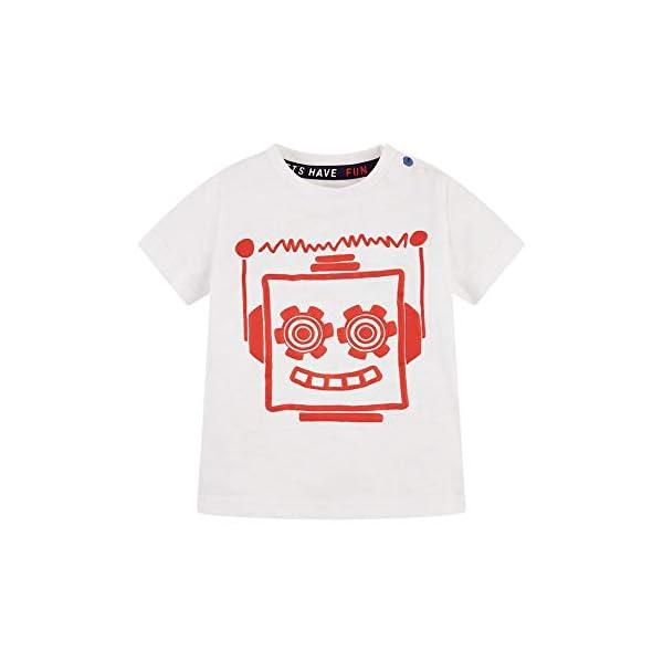 Mothercare MB Rp Check Shirt & tee SS Camiseta para Bebés 4