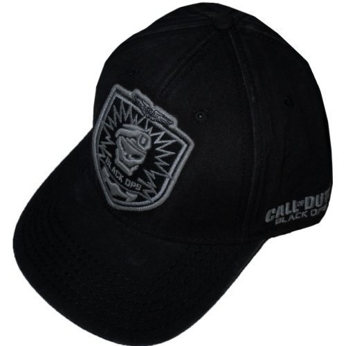 Call of Duty - Black Ops Cap Shield Adjustable (Black Ops Call Of Duty Kostüm)