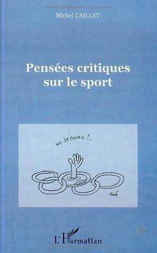 Pensees critiques sur le sport