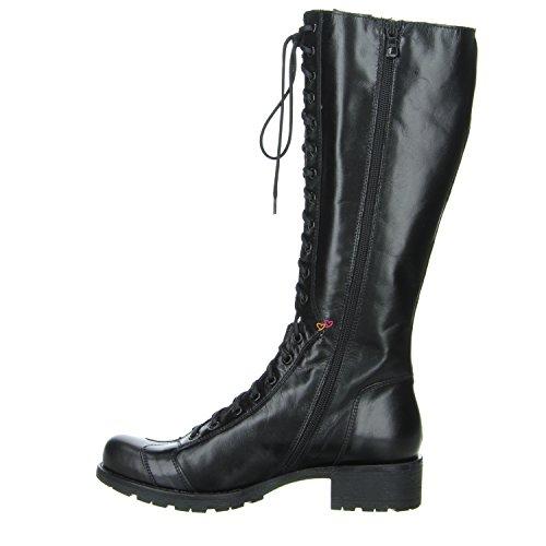 Nero Giardini HILTON NERO Damenstiefel aus schwarzem Glattleder Schwarz