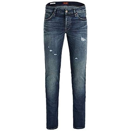 JACK and JONES Herren Jeans Blue Denim