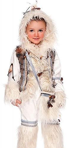 Fancy Me Italienische Herstellung Jungen Luxus Eskimo aus Aller Welt Karneval Halloween Kostüm Kleid Outfit 0-12 Jahre - 7 Years (Kostüme Aus Aller Welt)