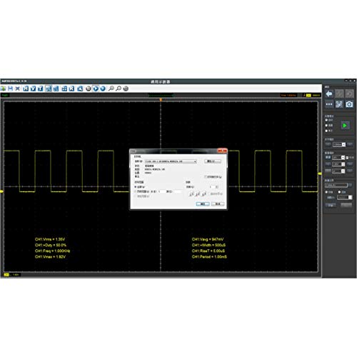 Dailyinshop Hantek1008C PC USB Auto Diagnose Auto Test Oszilloskop Fahrzeugprüfung (Farbe: schwarz)