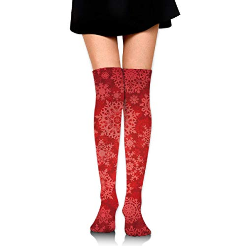 - Womens Red Knee High Boots