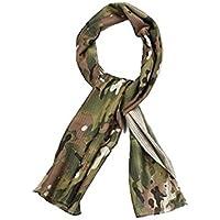 Camouflage tactique Tête écharpe Porter Sniper cou voile de protection visage masque pour 3couleurs (Camouflage, camouflage, ACU, Sports, jeu d'extérieur) pour airsoft, chasse,