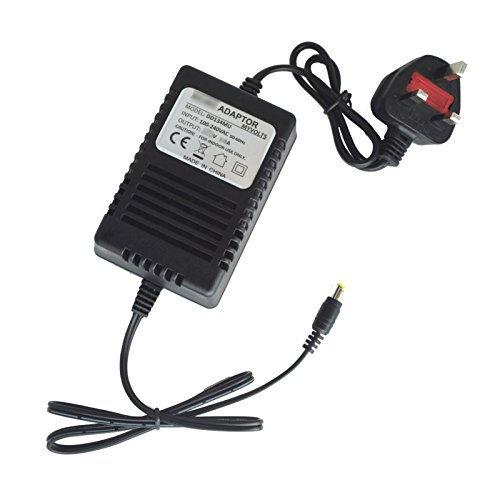 Price comparison product image MyVolts 9V Numark M2 Mixer replacement power supply adaptor - UK plug