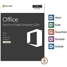 Office 2016 Famille et Petite Entreprise MAC | Licence Lifetime | Pas d'abonnement | Licence numérique originale Envoyé dans un jour par E-mail