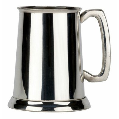 ottom Fine English Pewter Tankard Beer Mug Made in England ()