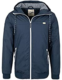 ece335df1408 Eight2Nine Herren Winterjacke mit Kapuze   Sportliche Basic Jacke warm  gefüttert
