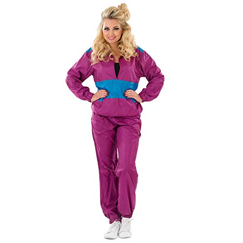 Adult Ladies 80's Shell Suit