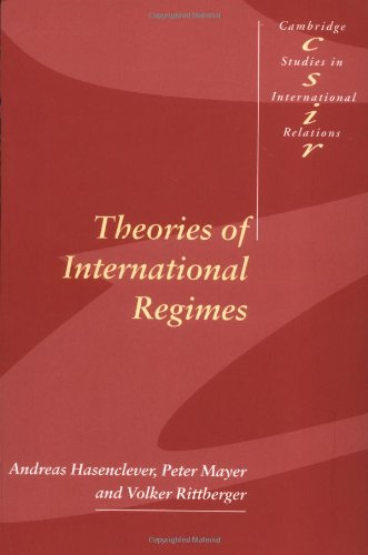 Theories of International Regimes Paperback (Cambridge Studies in International Relations)