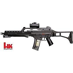 H&K HK G36 Sniper Noir Spring 0.5J Adulte Unisexe, Taille Unique