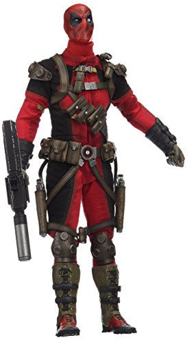 Sideshow Collectibles Maßstab 1: 6Marvel Deadpool Comic Figur (rot)