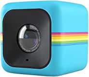 Polaroid Cube+ Wi-Fi Lifestyle Action Camera, Blue