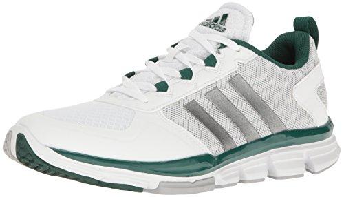 Adidas Performance Speed â??â??Trainer 2 Chaussure d'entraînement, noir / carbone métallisé / White/Carbon Metallic/Collegiate Green