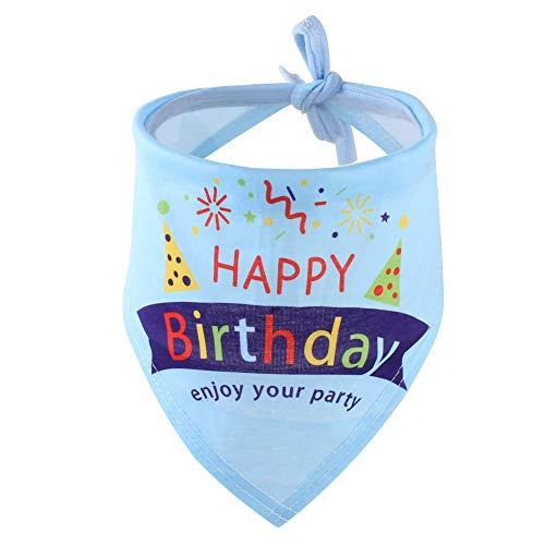 Petyoung Hunde-Halstuch, für Mädchen, Jungen, Haustier-Geburtstagsgeschenk, Dekoration, weicher Schal (Outfits Jungen Prinz Für)