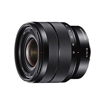 Sony SEL1018, Super-Weitwinkel-Zoom-Objektiv (10-18 mm, F4 OSS, E-Mount APS-C, geeignet für A5000/ A5100/ A6000 Serien& Nex) schwarz