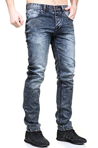 Black Soul - Jeans L9120 Bleu Bleu