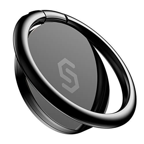 Syncwire Handy Ring Smartphone Fingerhalterung - 360 Grad Drehung Handyring Universal Ring Halterung Halter Ringhalter Smartphone Fingerhalter Handyhalterung für iPhone iPad Samsung Huawei und mehr