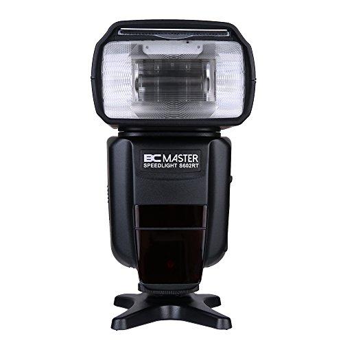 BC Master Blitzgerät GN58 Profi Blitzgerät für Canon E-TTL und Nikon I-TTL DSlR Kamera Canon 7D,60D,600D,580EXII,600EX,Nikon SB-800,800,700,SU-800