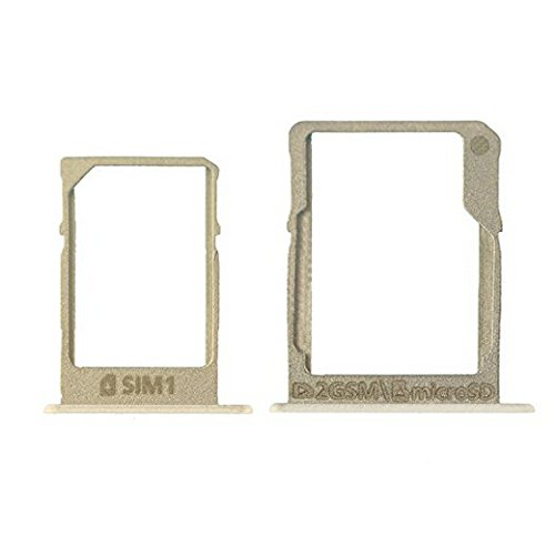 NETBOON® New Original SIM Card Tray Holder + SD Memory Card Tray Slot For Samsung Galaxy A5 (2015) - Gold  available at amazon for Rs.340