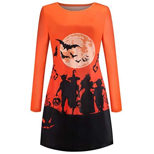 Einfache Halloween Kostüme Damen A-Linien Kleider mit