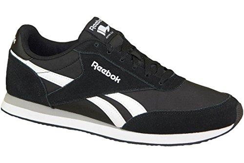 Reebok Royal Cl Jogger 2, Zapatillas de Running para Hombre, Negro Black/White/Baseball Grey 0, 44.5...