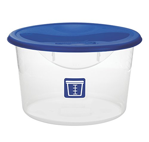 Rubbermaid Commercial Food Storage Container Lid Round Blue 11.4 L  sc 1 st  eBay & Rubbermaid Commercial Food Storage Container Lid Round Blue 11.4 ...