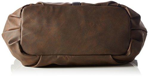 Tom Tailor Acc Damen Josy Shopper, 36x23x12 cm Braun (braun 29)