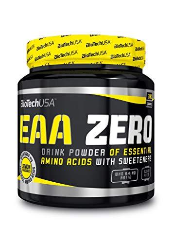 Biotech USA EAA Zero Essentielle Aminosäuren, 330g Dose, Lemon (2er Pack)