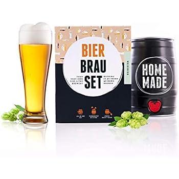 Bierbrauset Weizenbier Selber Brauen Neu Hefe Weizen Bier Set Geschenk Brew Beer Grade Produkte Nach QualitäT Bier, Wein & Spirituosen Möbel & Wohnen