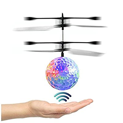 2018 Newest RC Ball, Hotsellhome RC Flying Ball Drone Helicopter Ball with Shinning LED Lighting Toy Indoor Outdoor Games for Kids and Adults - Simple Operation - Easy to play by Hotsellhome