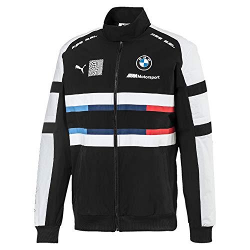 PUMA BMW Motorsport Street Herren Gewebte Jacke Puma Black L