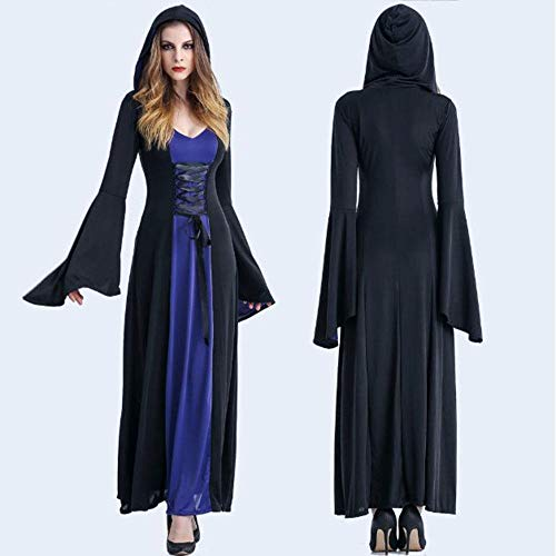 ZXX5211 Halloween Kostüme Female Adult Scary Cosplay Frauen in Halloween Kostümen, XL (Female Adult Kostüm)