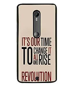 FUSON Designer Back Case Cover for Motorola Moto X Style :: Moto X Pure Edition (Good Idea Great quote Success Quote)