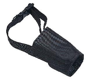 Zolux Nylon Adjustable Muzzle Size 2 (Suitable for Cocker Spaniel, Poodle, Terrier, etc.) by Muscat