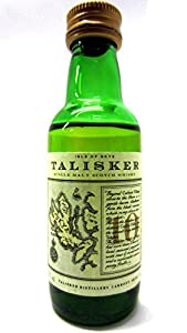 Talisker - Single Malt Scotch Miniature - 10 year old Whisky by Talisker