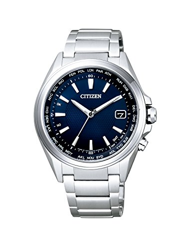 Citizen Herren-Armbanduhr Radio Controlled Analog Quarz Titan CB1070-56L