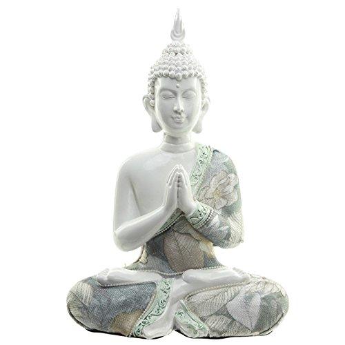 Decorativo floral Lotus de Buda figura decorativa