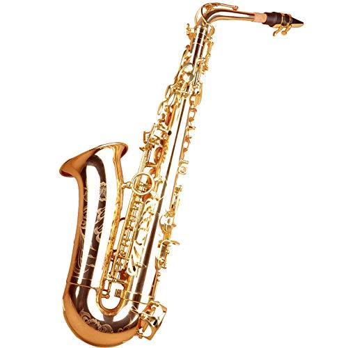 @Y.T Saxophon Musikinstrument Anfänger Erwachsene Drop E Tune Saxophon Luftkanal Leistung