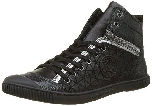 Pataugas Banjou, Sneaker a Collo Alto Donna nero (noir)