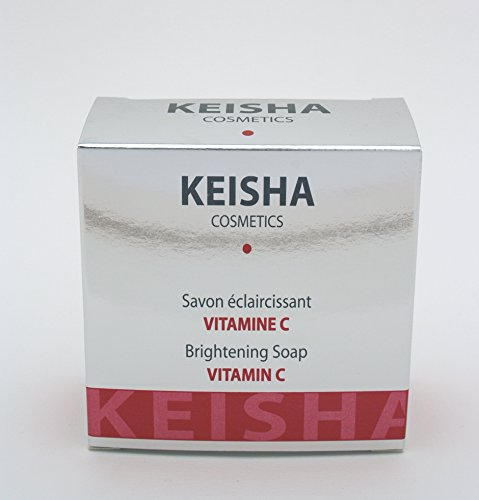 Keisha Cosmetique - Savon Eclaircissant avec Vitamine C 200g
