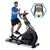 Capital Sports Helix Series Orbital Crosstrainer (Bluetooth, magnetisches Bremssystem mit 32 Leveln, App-Integration (Kinomap), Option bis 27 kg Schwungmasse, Tablet-Halterung, Pulssensor)