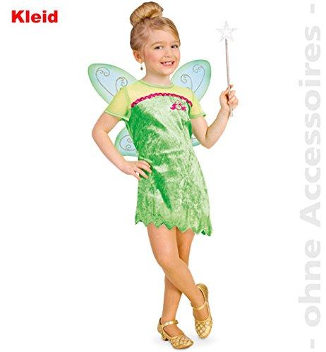 """Kinder-Kostüm """"FEE LILIANE"""" Kleid in Gr. 104 - 128 (104)"""